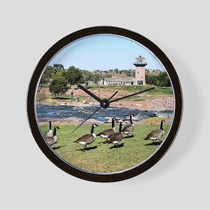 At The Falls 2 Wall Clock