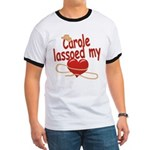 Carole Lassoed My Heart Ringer T