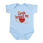 Carole Lassoed My Heart Infant Bodysuit