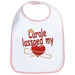 Carole Lassoed My Heart Bib