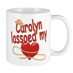 Carolyn Lassoed My Heart Mug