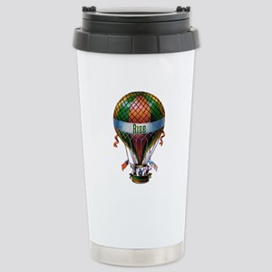 Rise (green) Stainless Steel Travel Mug