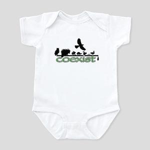 Wildlife Coexist Infant Bodysuit