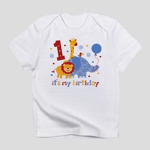 Safari 1st Birthday Infant T-Shirt