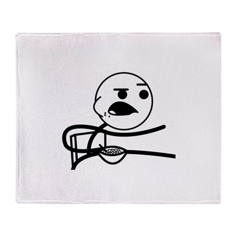 Cereal Guy 1 Throw Blanket