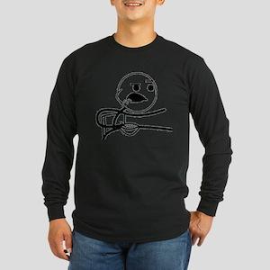 Cereal Guy 1 Long Sleeve Dark T-Shirt