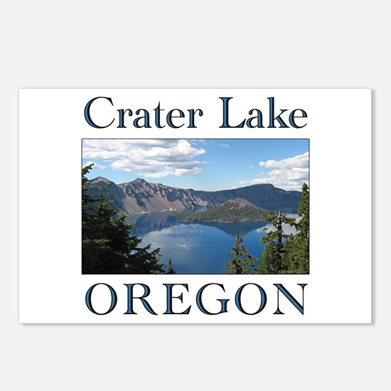 Unique Crater lake Postcards (Package of 8)