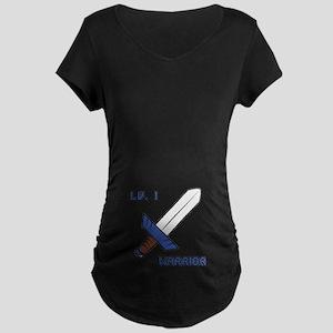 Level 1 Warrior Maternity Dark T-Shirt