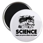 Science White Magnet