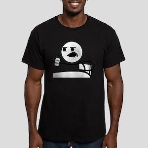 Cereal Guy Beer Men's Fitted T-Shirt (dark)
