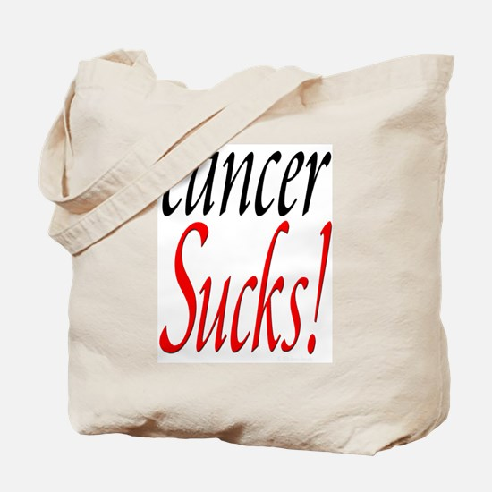 Cancer Sucks! Tote Bag
