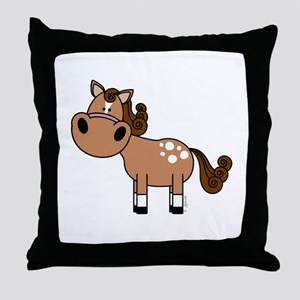 Appaloosa Horse Throw Pillow