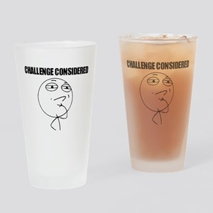 Challenge Considered Drinking Glass