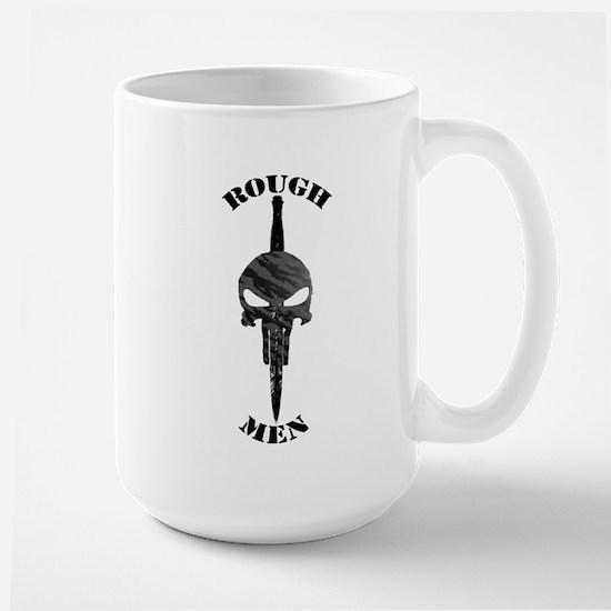 Rough Men Logo Large Mug