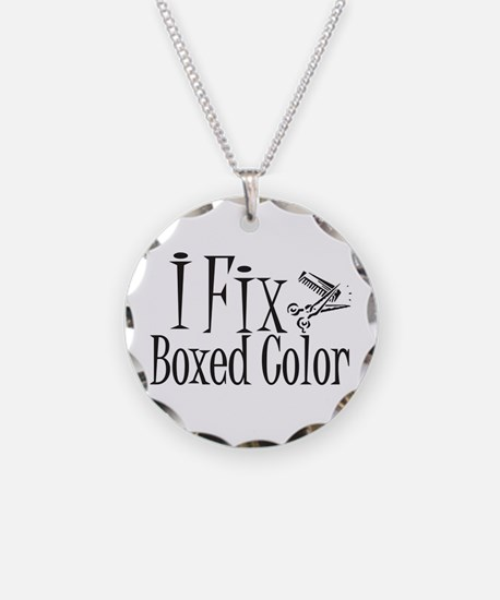 I Fix Boxed Color Necklace