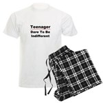 Teen: Dare To Be Indifferent Men's Light Pajamas