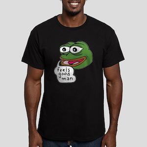 Feels Good Man Men's Fitted T-Shirt (dark)