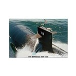 USS HONOLULU Rectangle Magnet