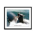 USS HONOLULU Framed Panel Print