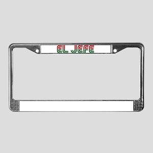 El Jefe License Plate Frame
