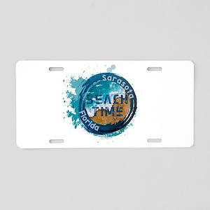 Florida - Sarasota Aluminum License Plate
