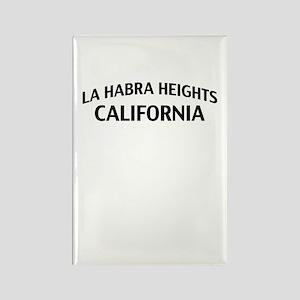 La Habra Heights California Rectangle Magnet