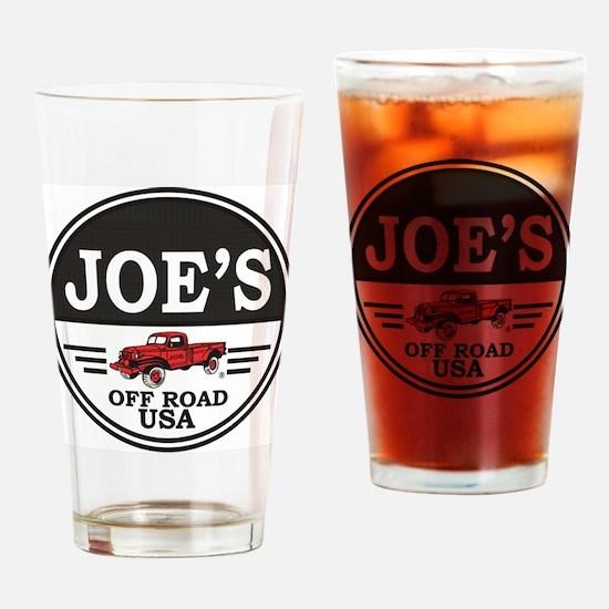 Joe Drinking Glass