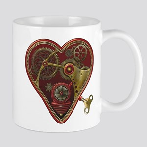 Steampunk Heart Mug
