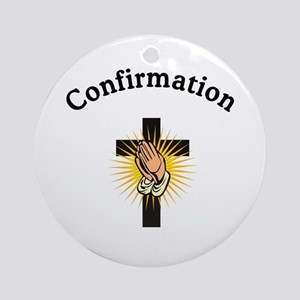 Confirmation Ornament (Round)