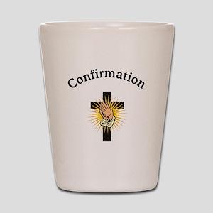 Confirmation Shot Glass