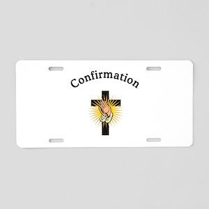 Confirmation Aluminum License Plate