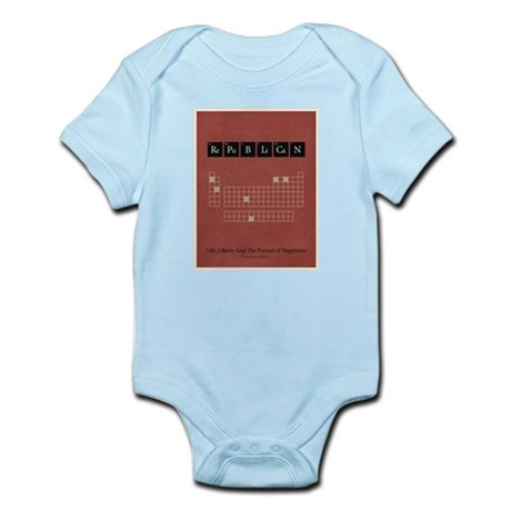 Chemistry of A Republican Infant Bodysuit