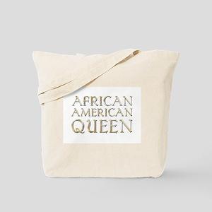 African American Queen Tote Bag