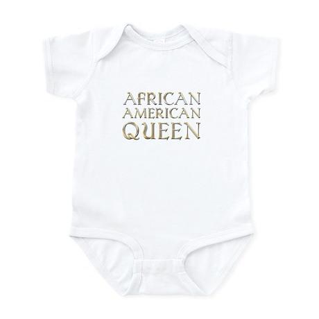 9cf8a80bd African American Queen Infant Creeper Baby Light Bodysuit ...