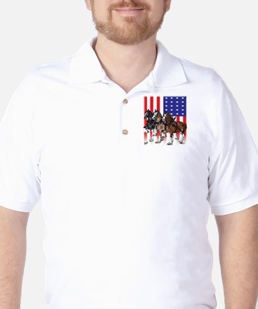 Clydesdale Golf Shirt