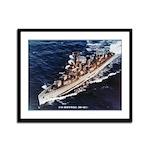 USS HOPEWELL Framed Panel Print