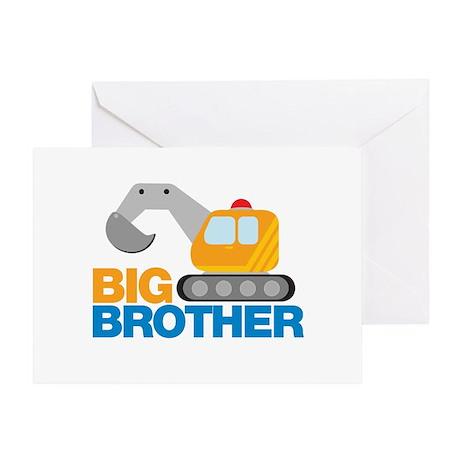 Digger Big Brother Greeting Card