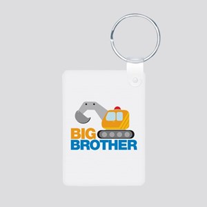 Digger Big Brother Aluminum Photo Keychain