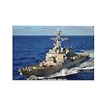 USS HOPPER Rectangle Magnet