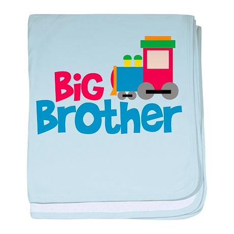 Train Engine Big Brother baby blanket