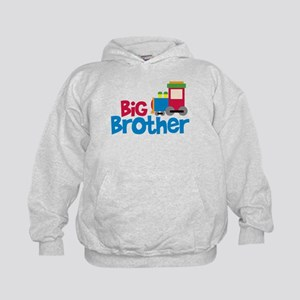 Train Engine Big Brother Kids Hoodie