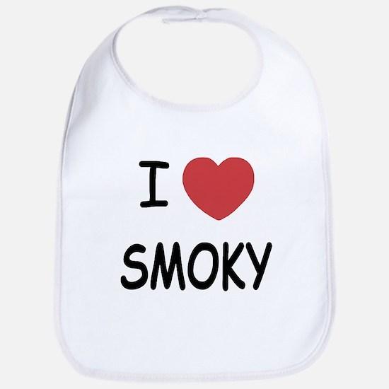 I heart smoky Bib