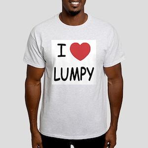 I heart lumpy Light T-Shirt
