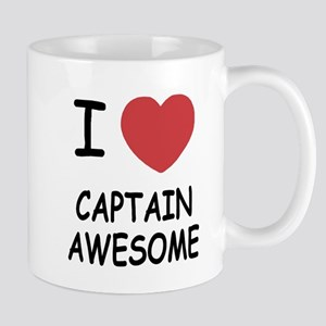 I heart captain awesome Mug