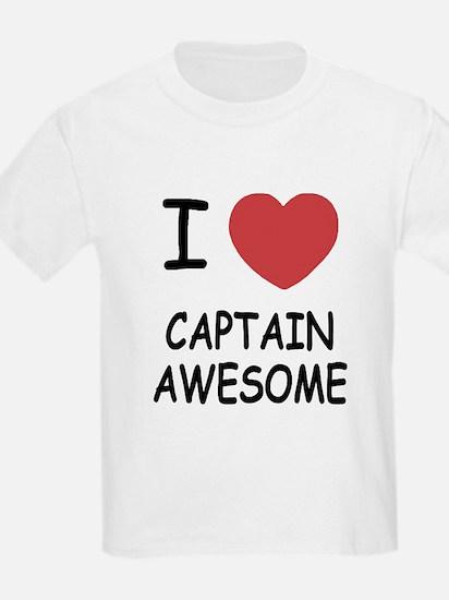 I heart captain awesome T-Shirt