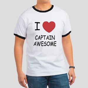 I heart captain awesome Ringer T