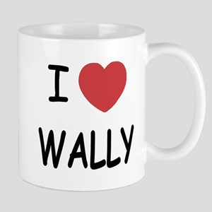 I heart wally Mug