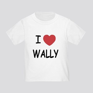 I heart wally Toddler T-Shirt