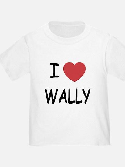 I heart wally T