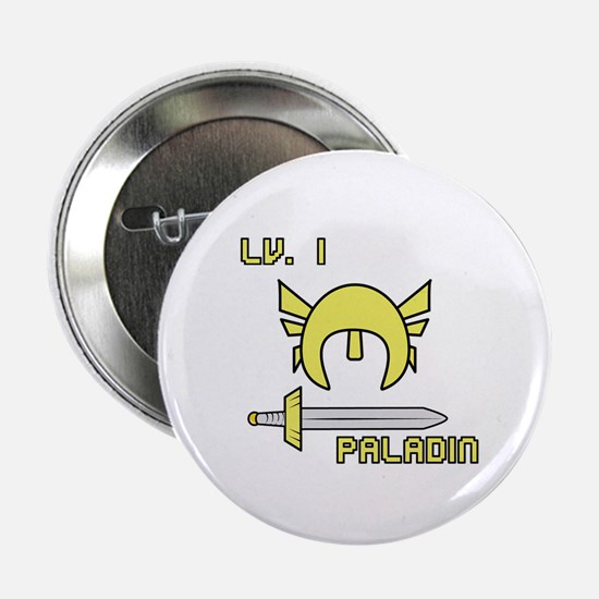 "Level 1 Paladin 2.25"" Button"